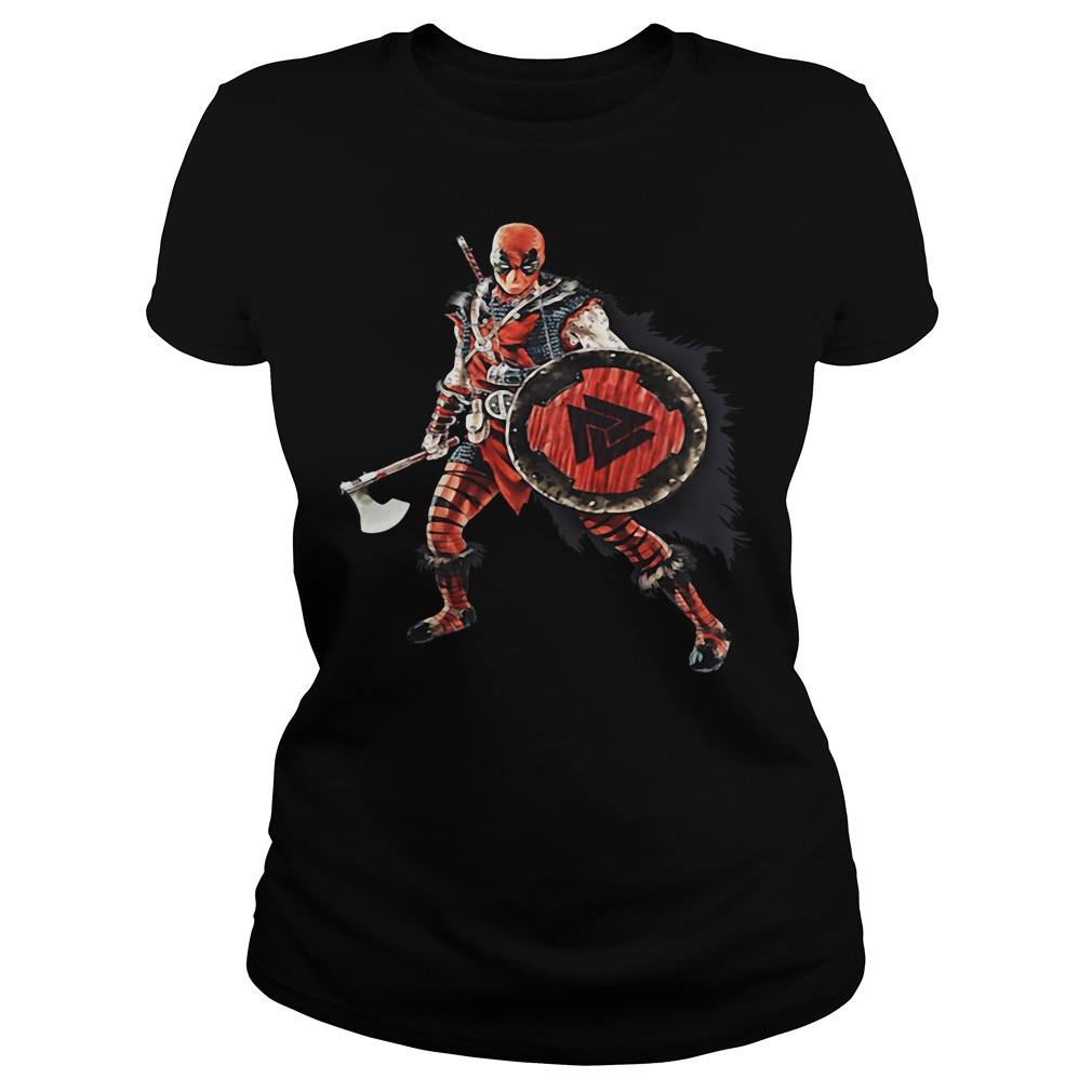 Deadpool Viking Ladies tee