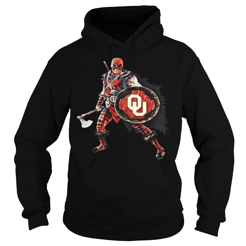 Deadpool Viking Oklahoma Sooners Hoodie