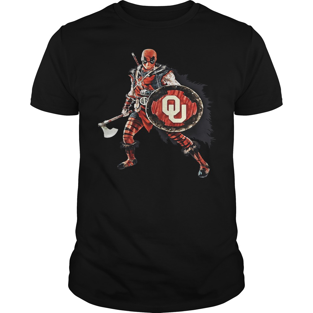 Deadpool Viking Oklahoma Sooners shirt