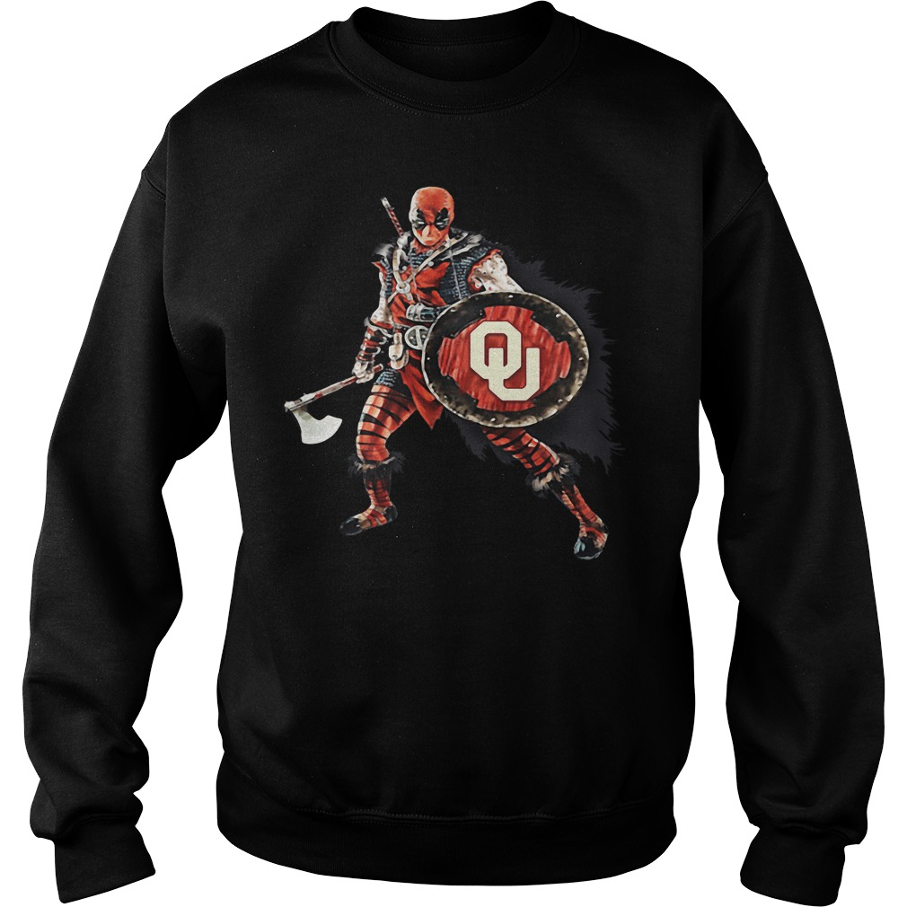 Deadpool Viking Oklahoma Sooners Sweater