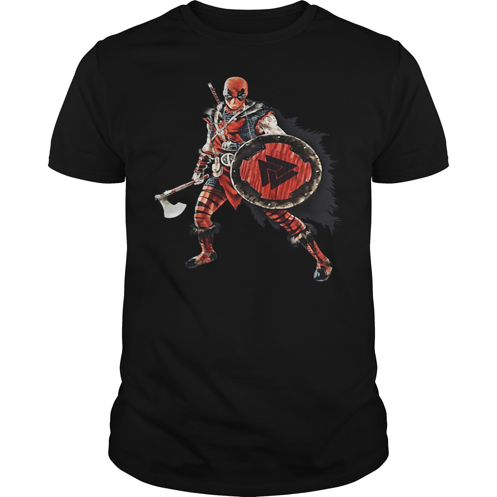 Deadpool Viking shirt