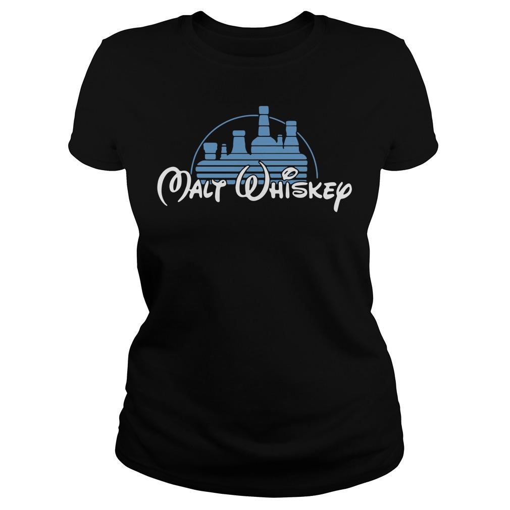 Disney Malt Whiskey shirt
