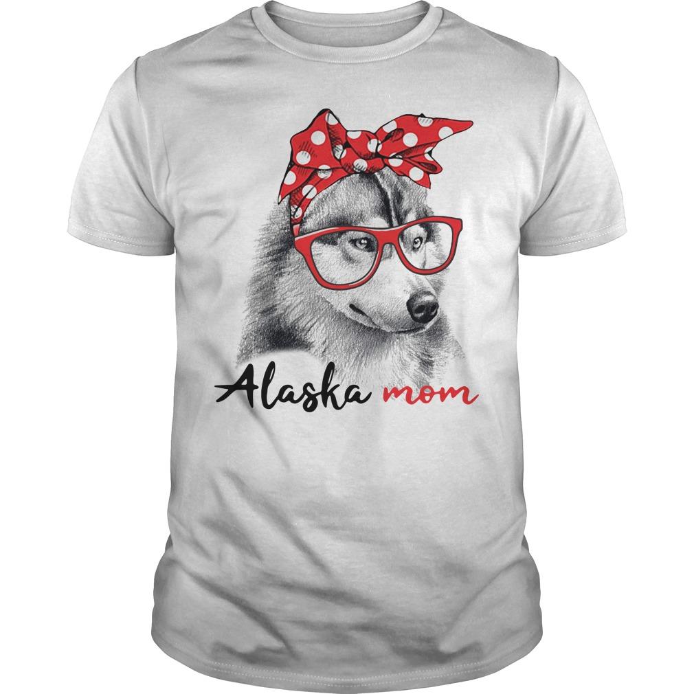 Dog mom - Alaska mom Guys shirt