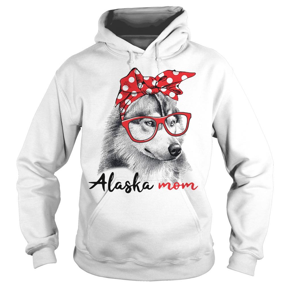 Dog mom - Alaska mom Hoodie