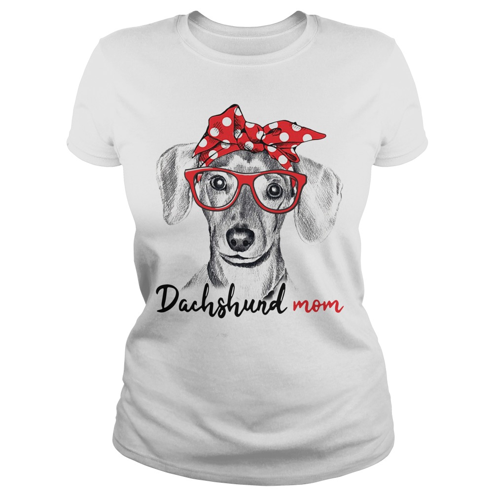 Dog mom - Dachshund mom shirt