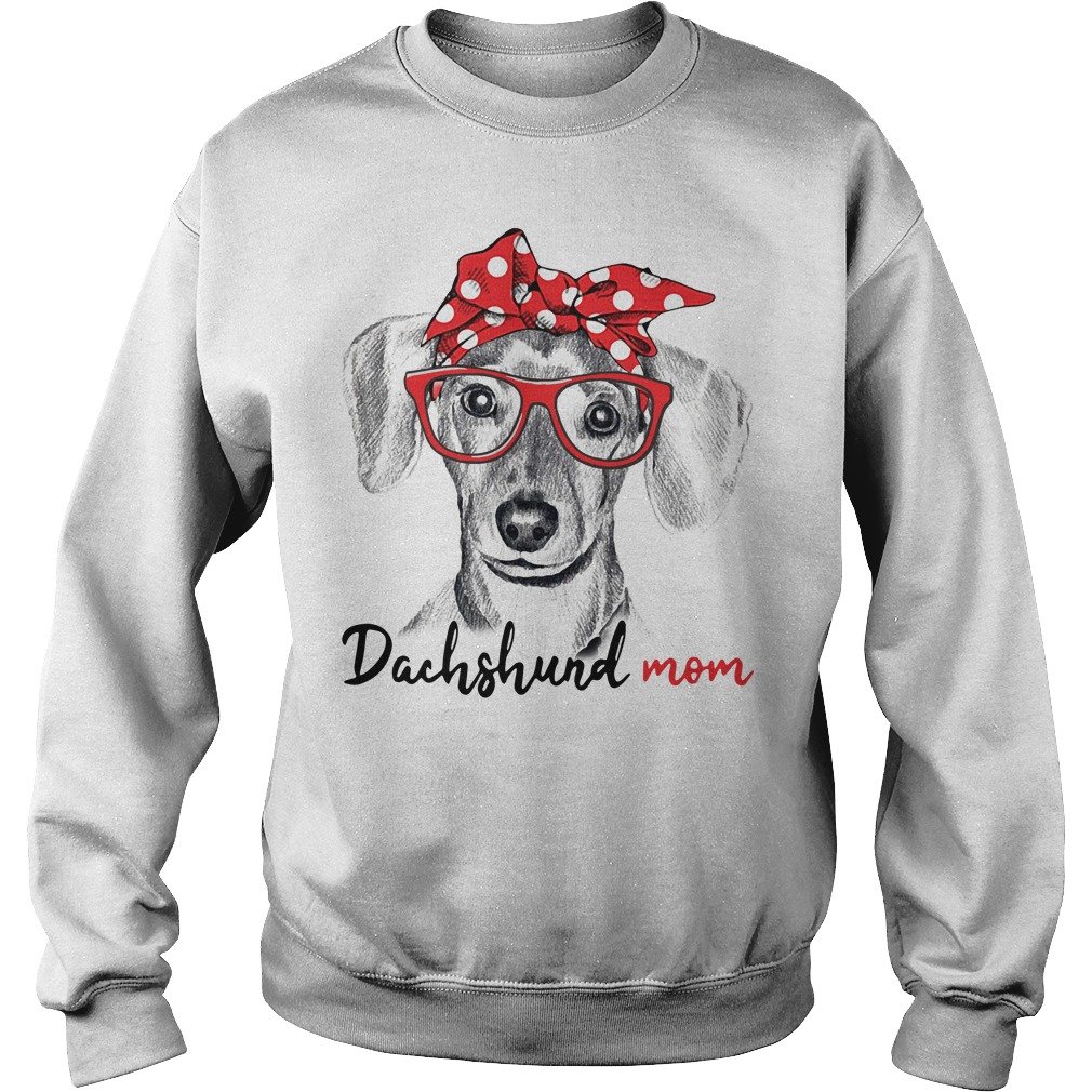 Dog mom - Dachshund mom Sweater