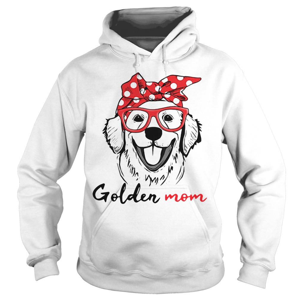Dog mom - Golden mom Hoodie