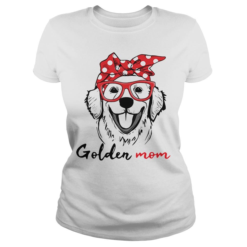 Dog mom - Golden mom shirt