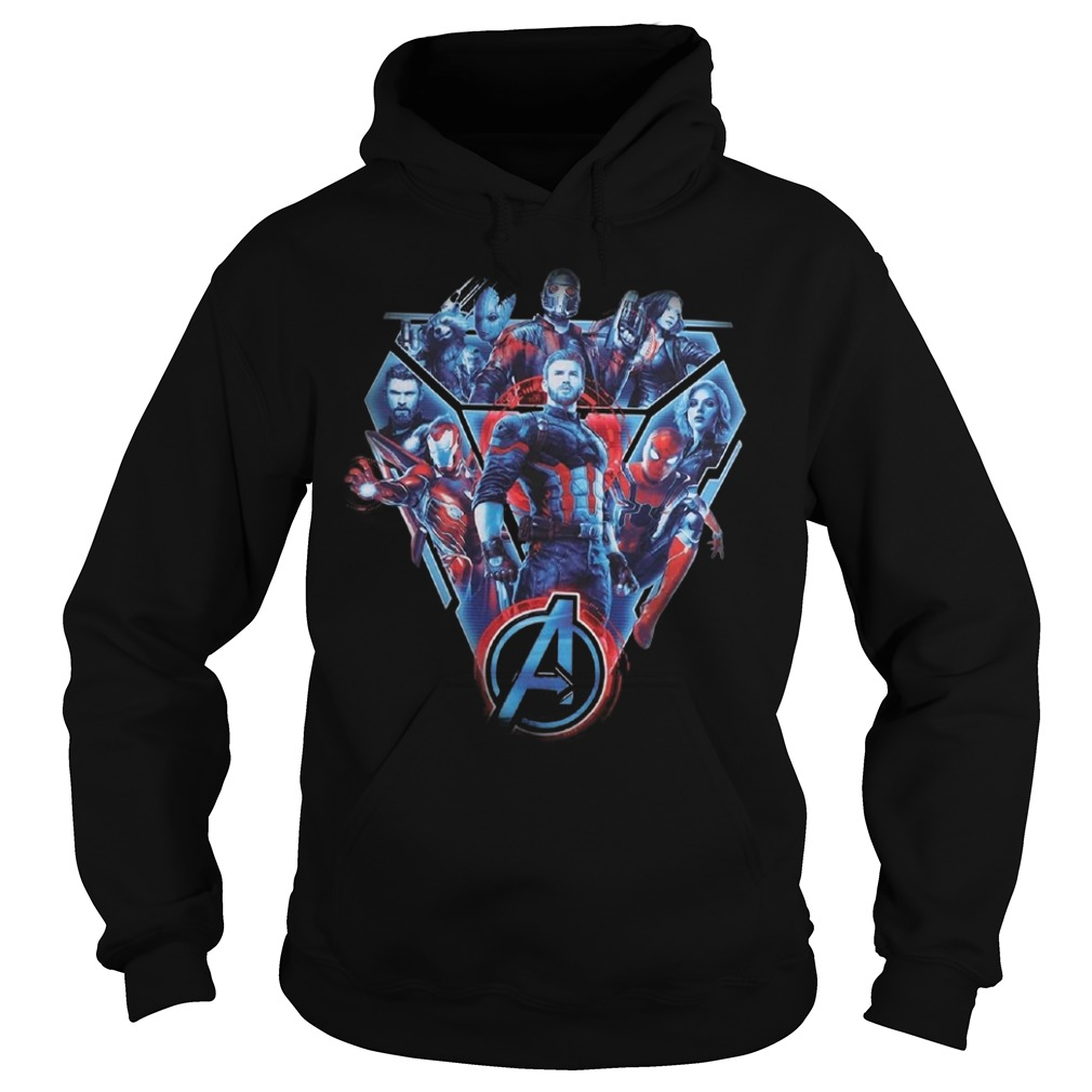 Fighters of the Marvel Avenger Infinity War Hoodie