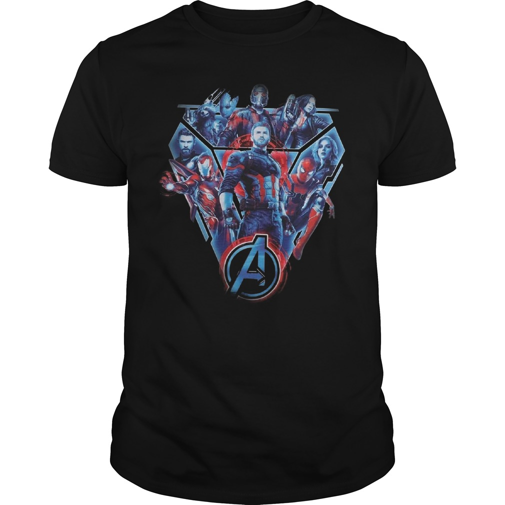 Fighters of the Marvel Avenger Infinity War shirt