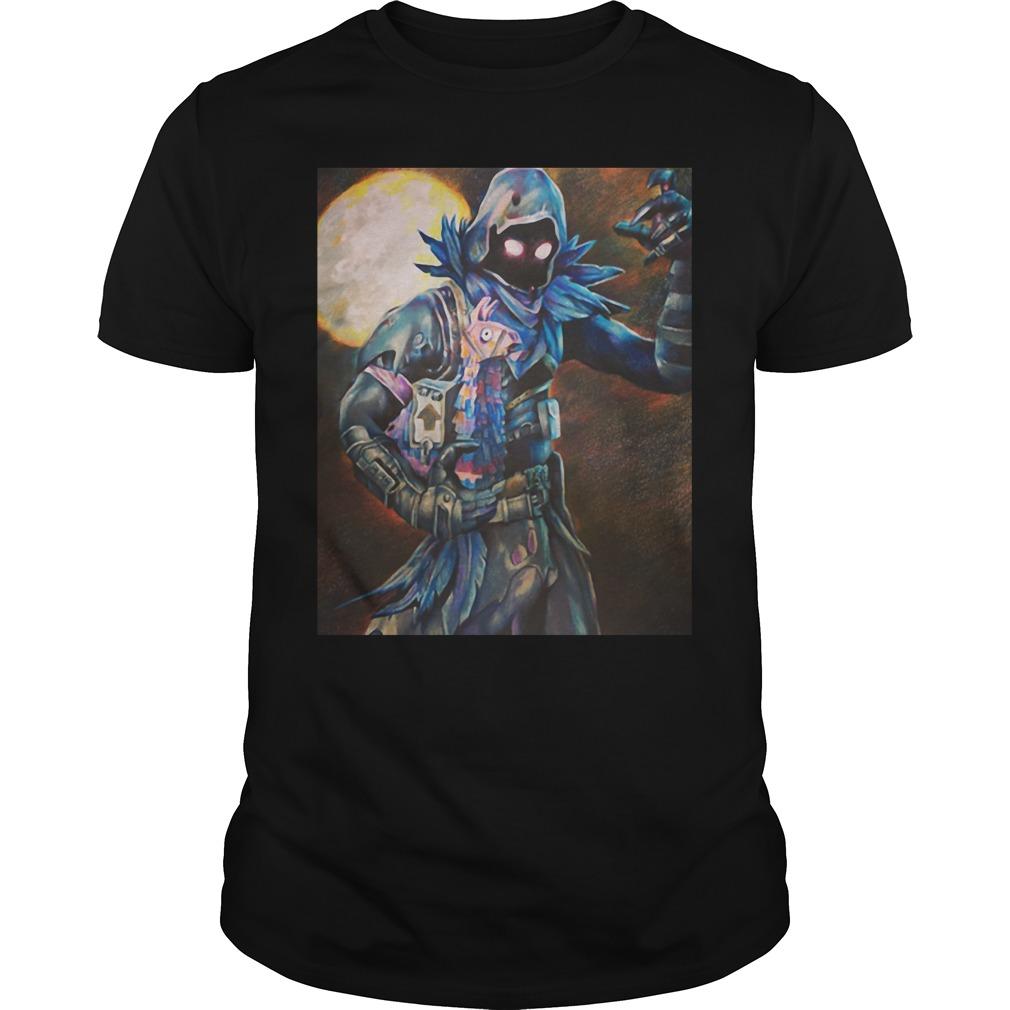 Fotnite Raven Painting shirt