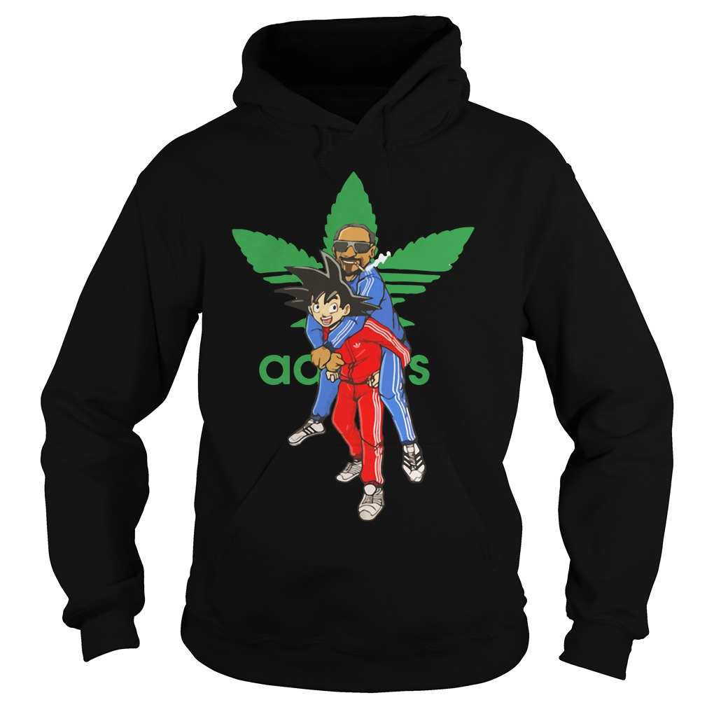 Goku and Snoop Dogg Adidas Hoodie