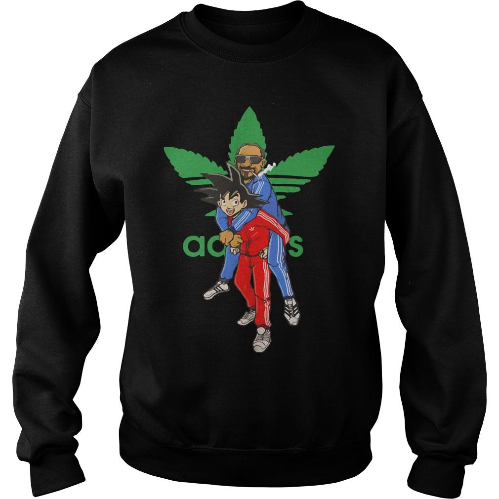 Goku and Snoop Dogg Adidas Sweater