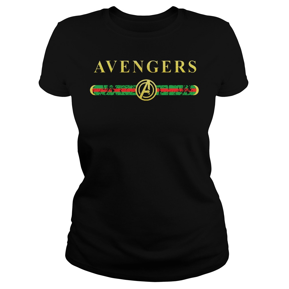 Gucci Avengers Ladies tee