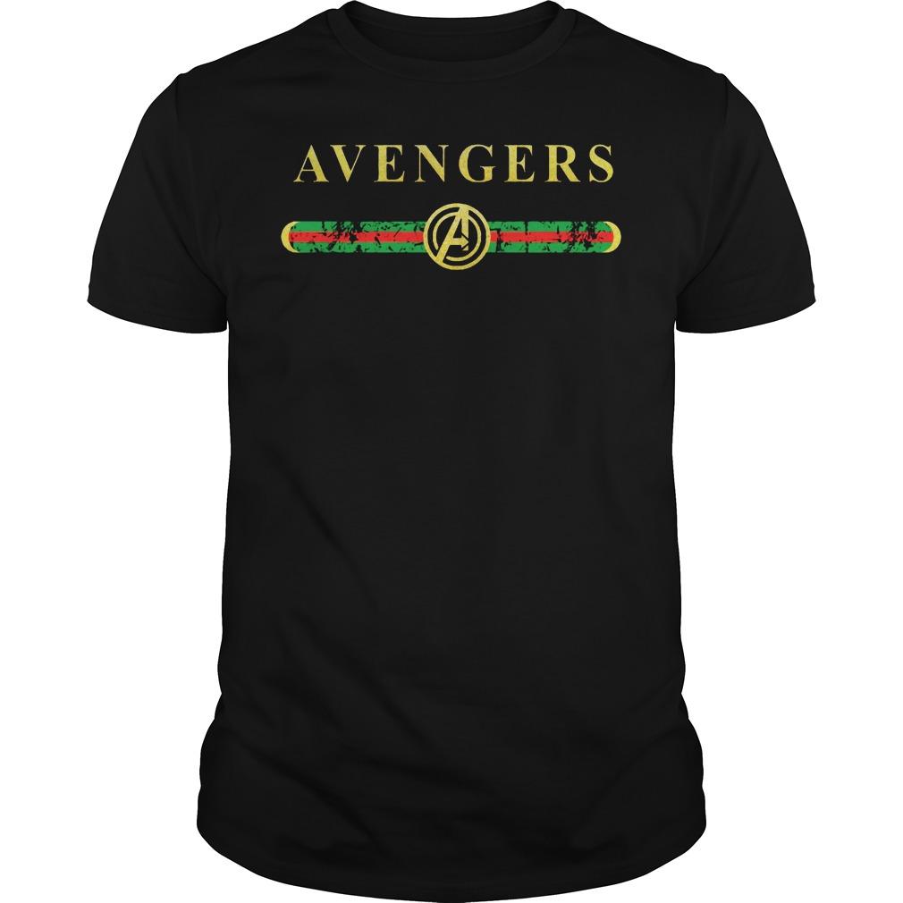 Gucci Avengers shirt