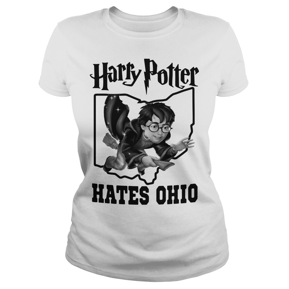 Harry Potter hates Ohio Ladies Tee
