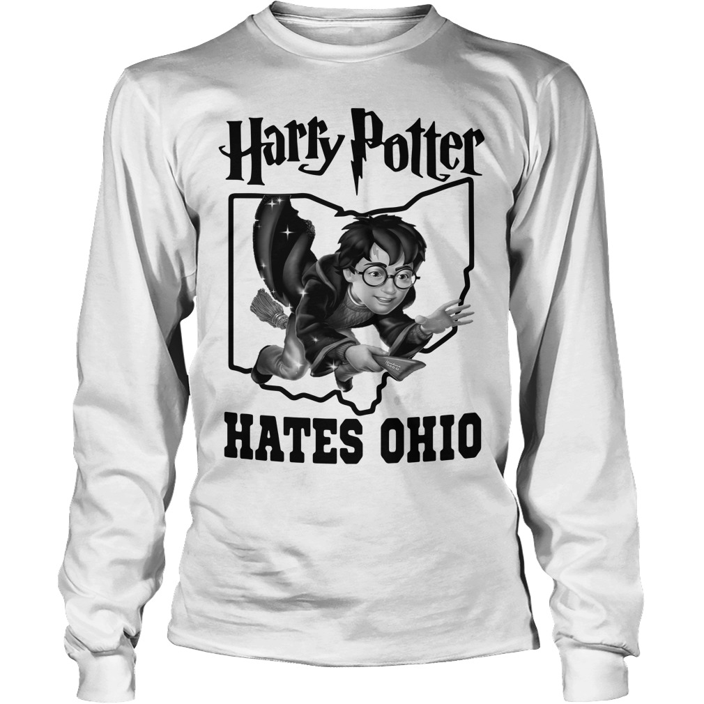 Harry Potter hates Ohio Longsleeve tee