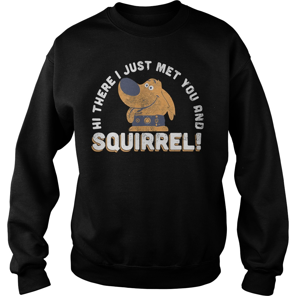 Hi there I just met you and Squirrel Sweater