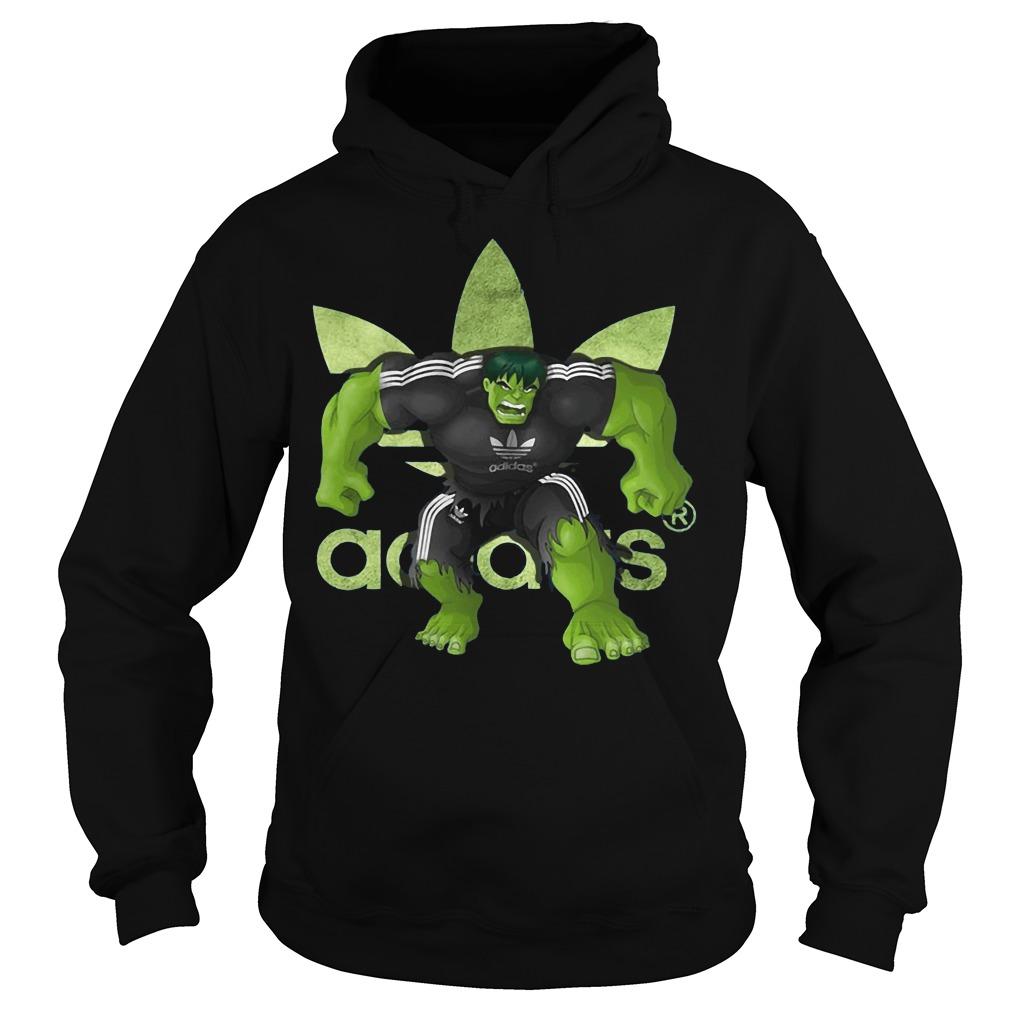 Hulk Adidas Hoodie