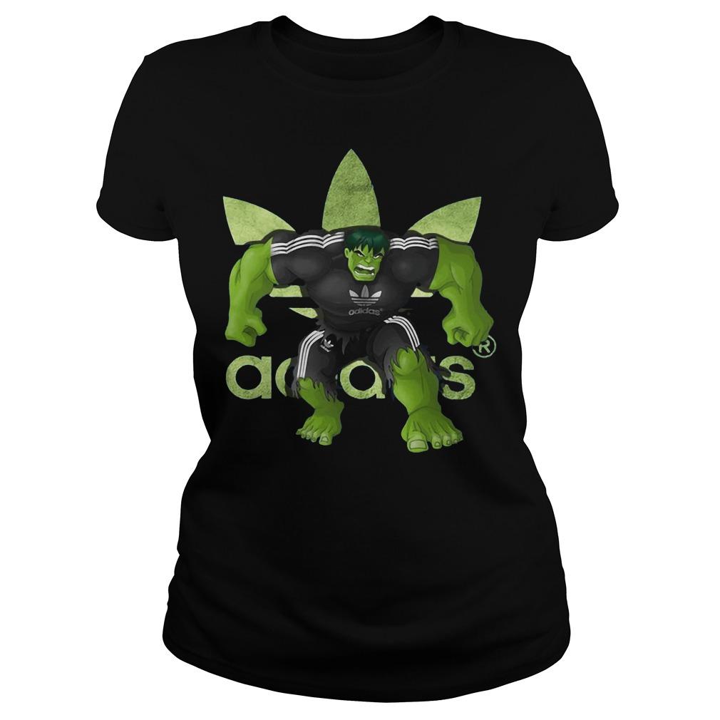 Hulk Adidas Ladies tee