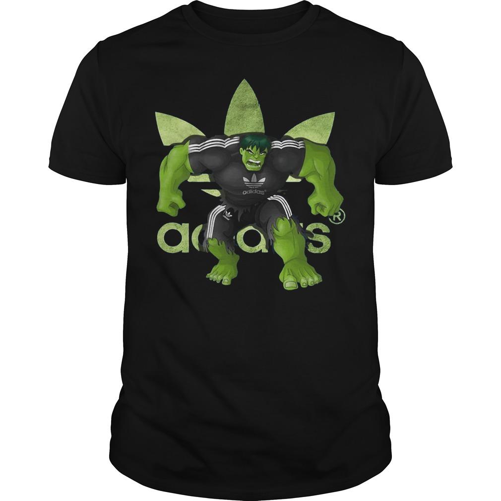 Hulk Adidas shirt