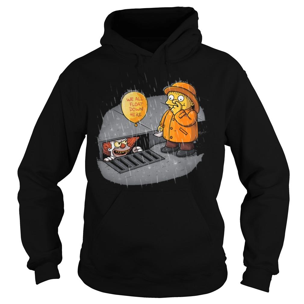 It Stephen King Krusty Ralph the simpsons Hoodie