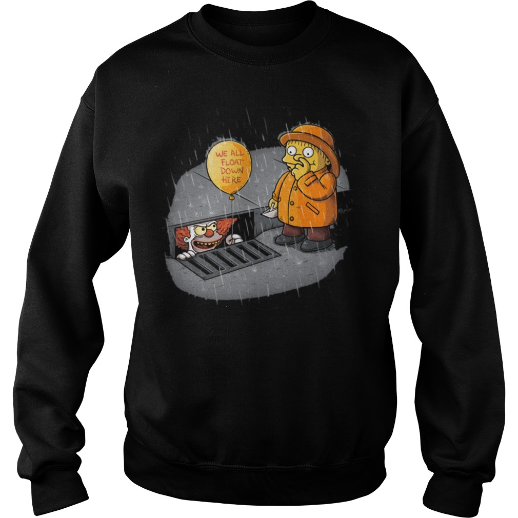 It Stephen King Krusty Ralph the simpsons Sweater
