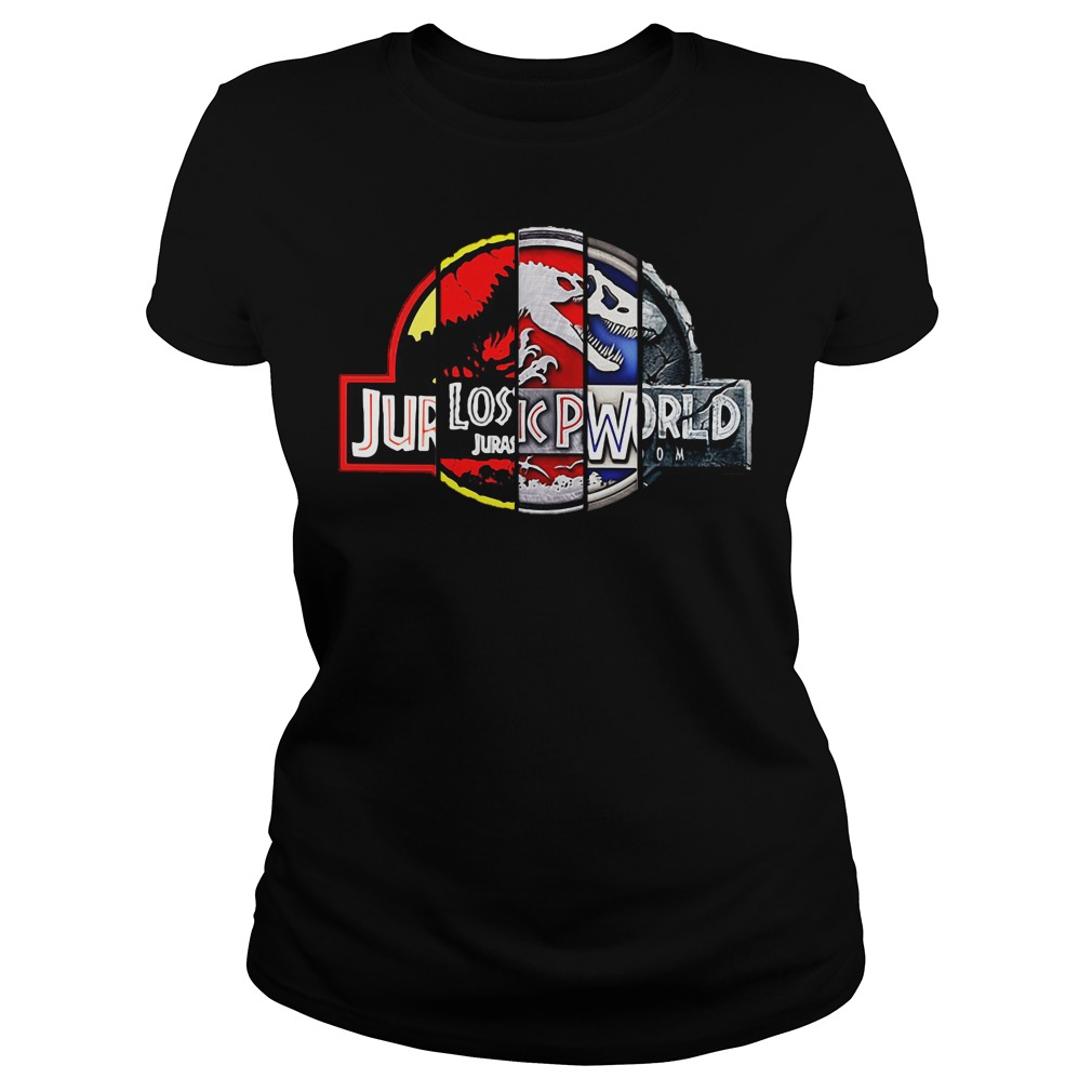 Jurassic Park 25th Anniversary Ladies tee