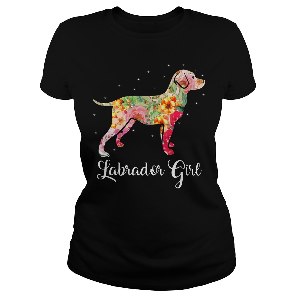 Labrador girl shirt