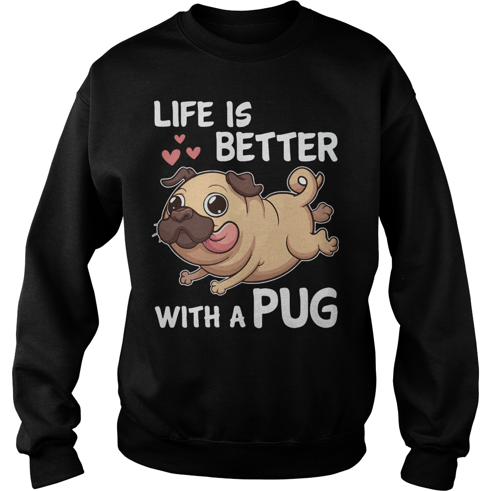 Life is better with a Pug Sweater