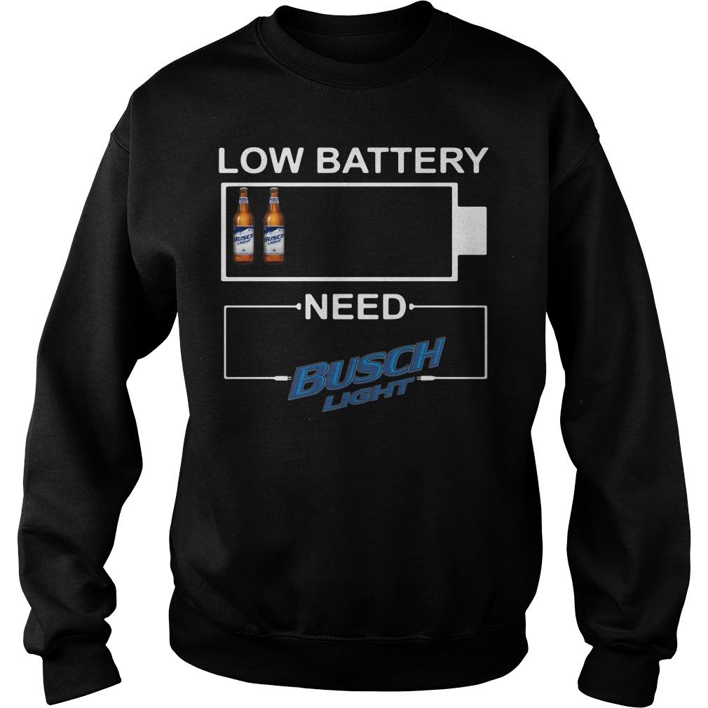 Low Battery need Busch Light Sweater