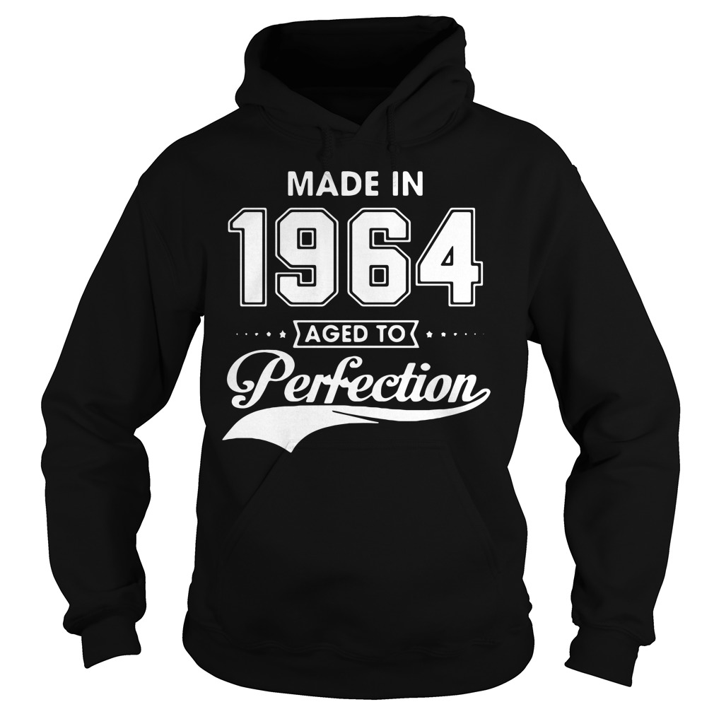 Made in 1964 aged to perfection Hoodie
