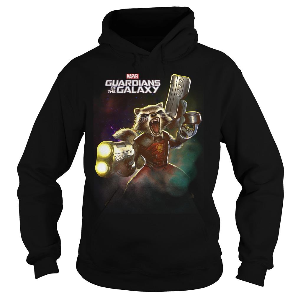 Marvel Guardians of the Galaxy Rocket Raccoon Hoodie