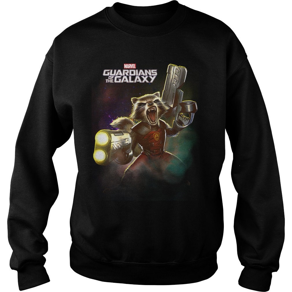 Marvel Guardians of the Galaxy Rocket Raccoon Sweater