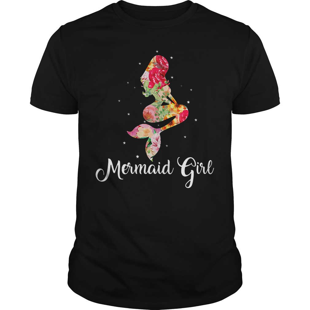 Mermaid girl Guys shirt