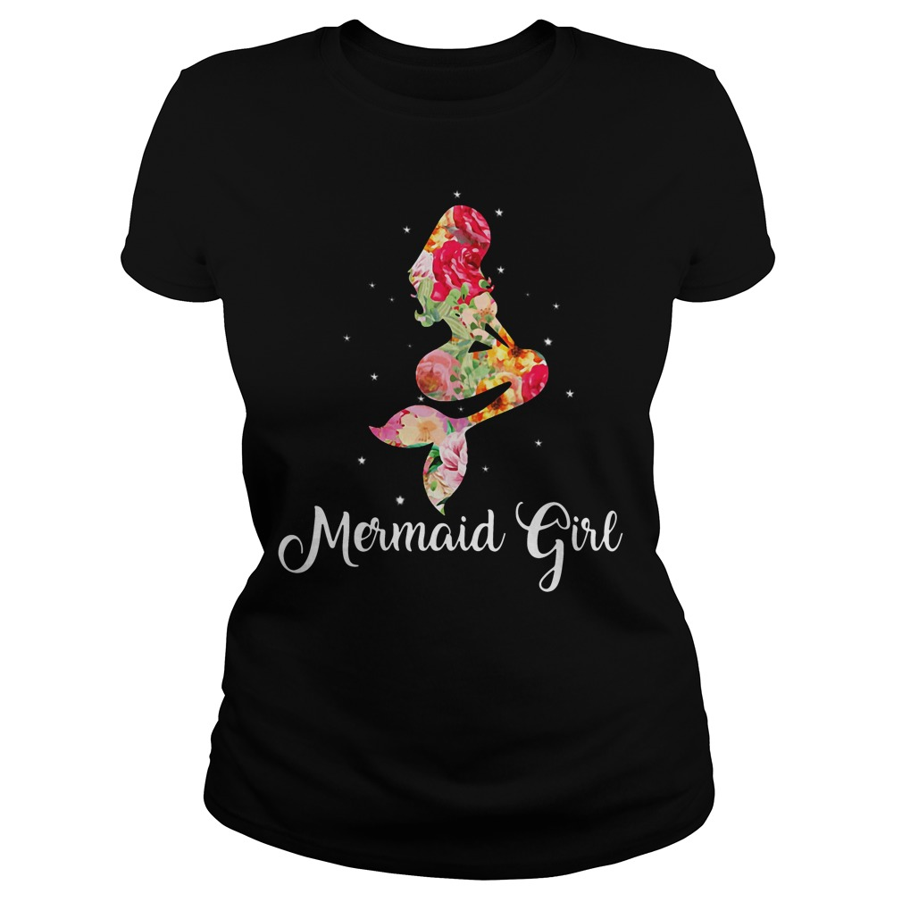 Mermaid girl shirt