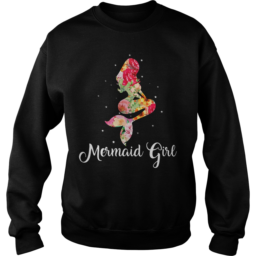 Mermaid girl Sweater