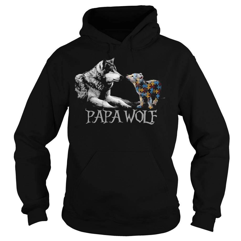Papa Wolf Hoodie