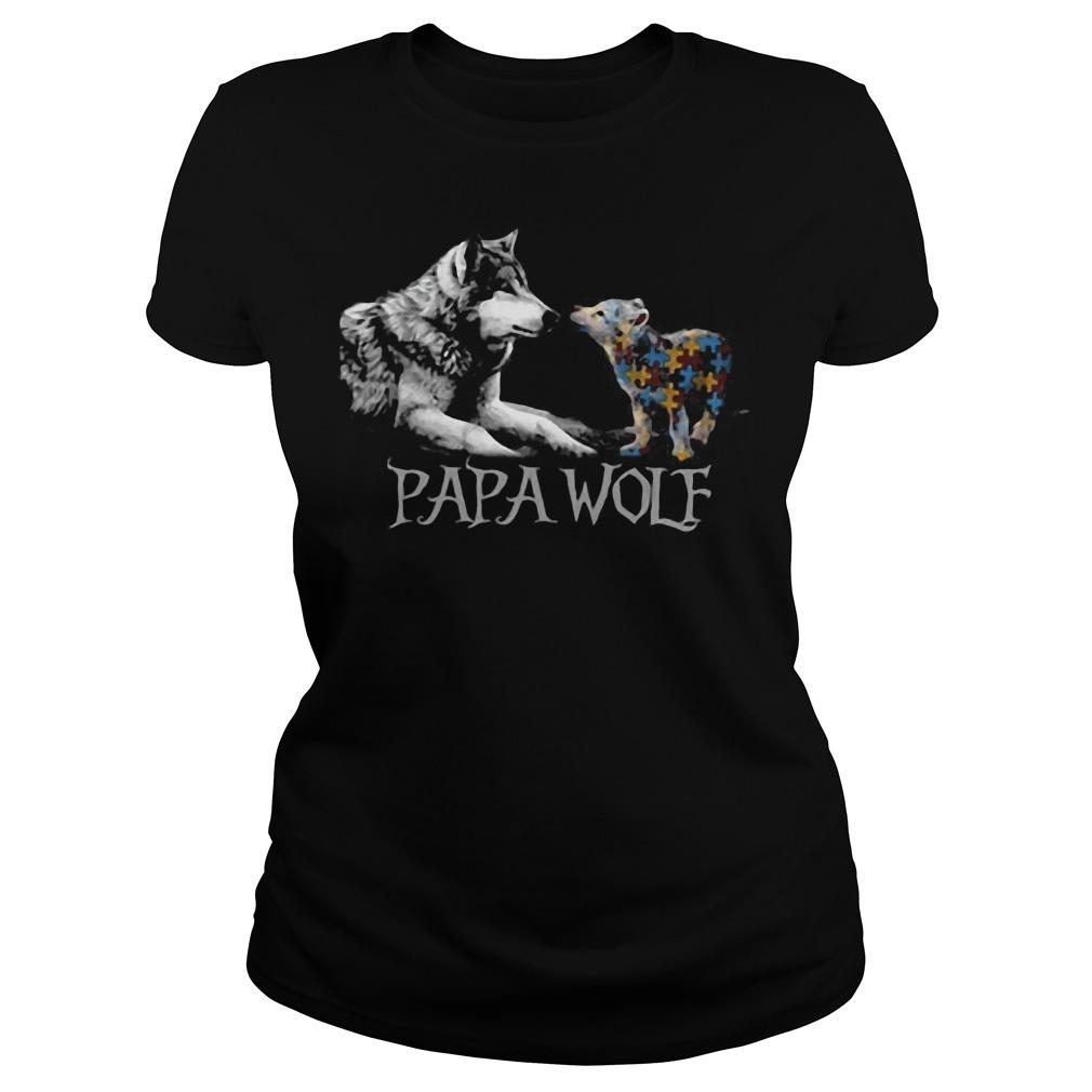 Papa Wolf Ladies tee