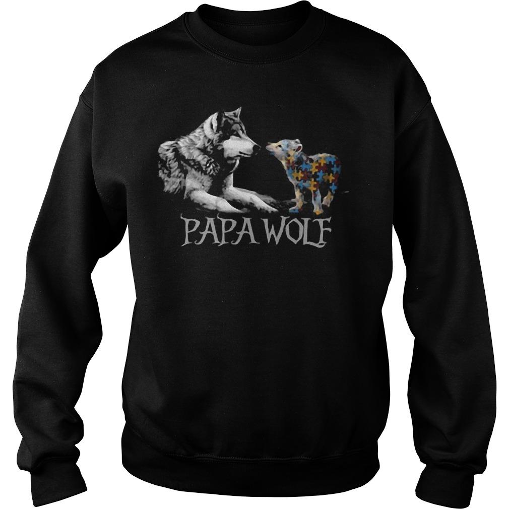 Papa Wolf Sweater