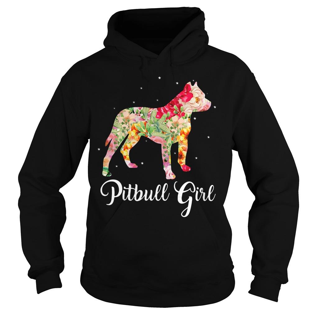 Pitbull girl Hoodie