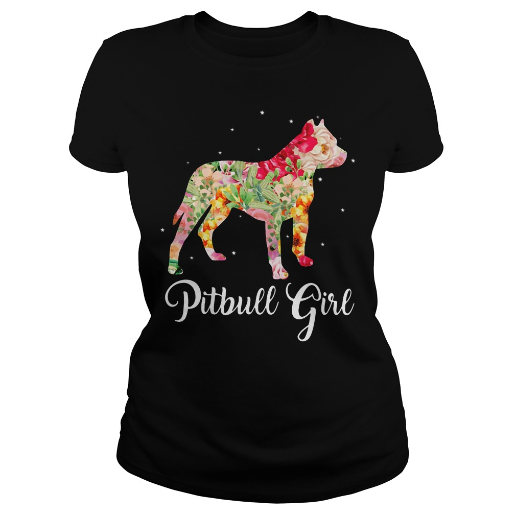 Pitbull girl shirt