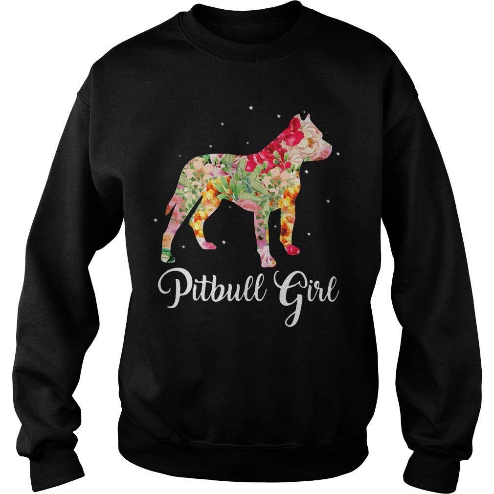 Pitbull girl Sweater