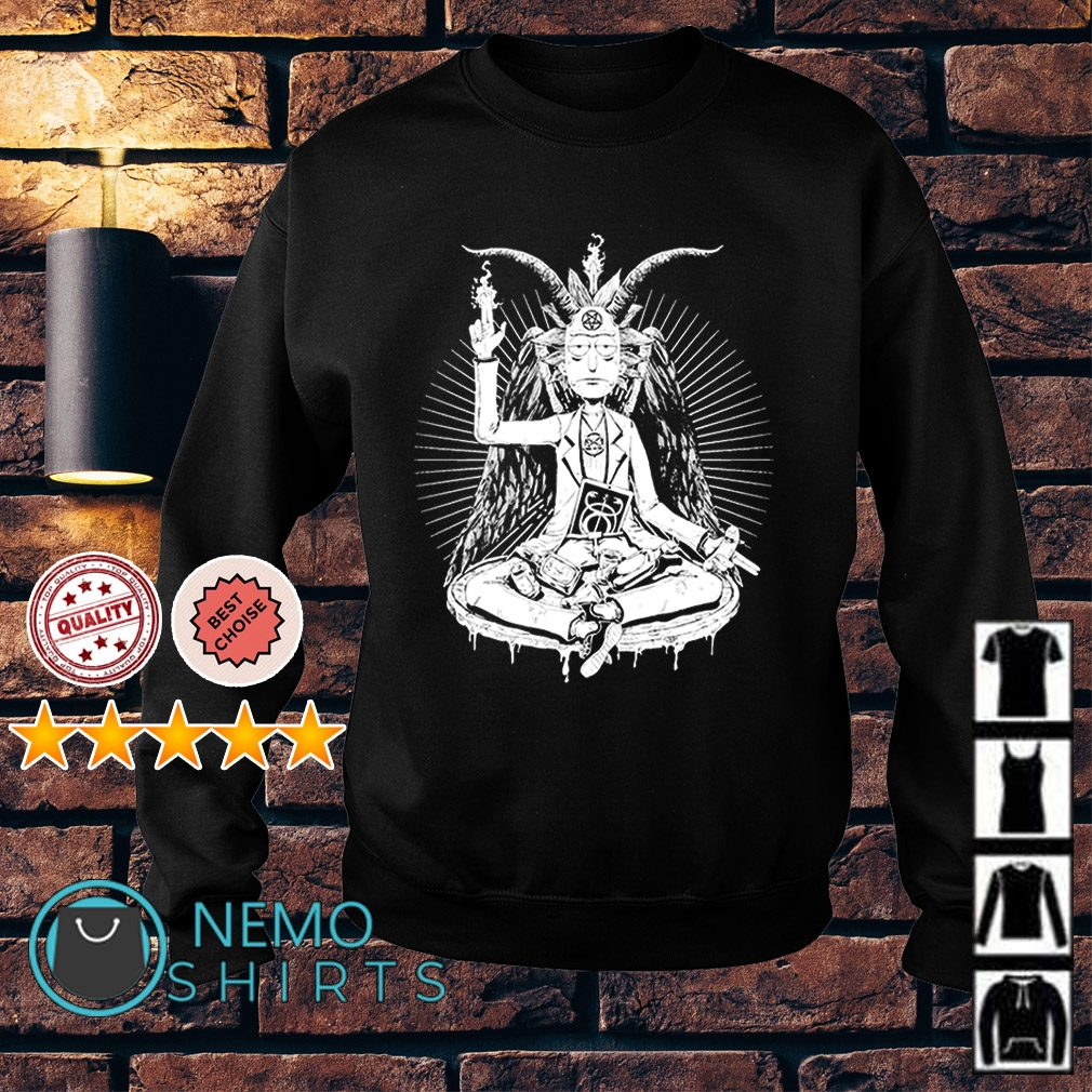Rick and Morty Satan funny Sweater