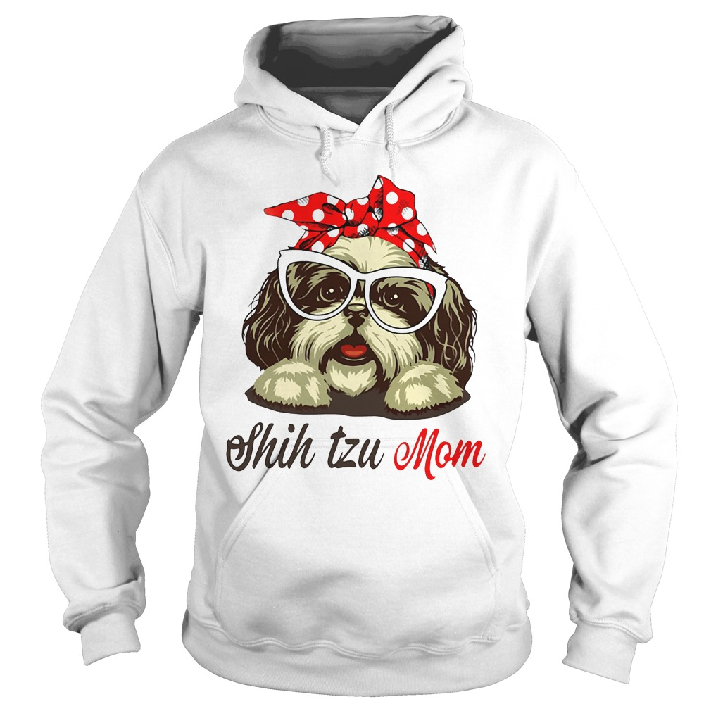 Shih Tzu Mom Hoodie Gift for Mother's Day