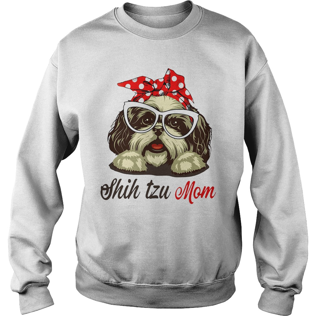 Shih Tzu Mom Sweater Gift for Mother's Day