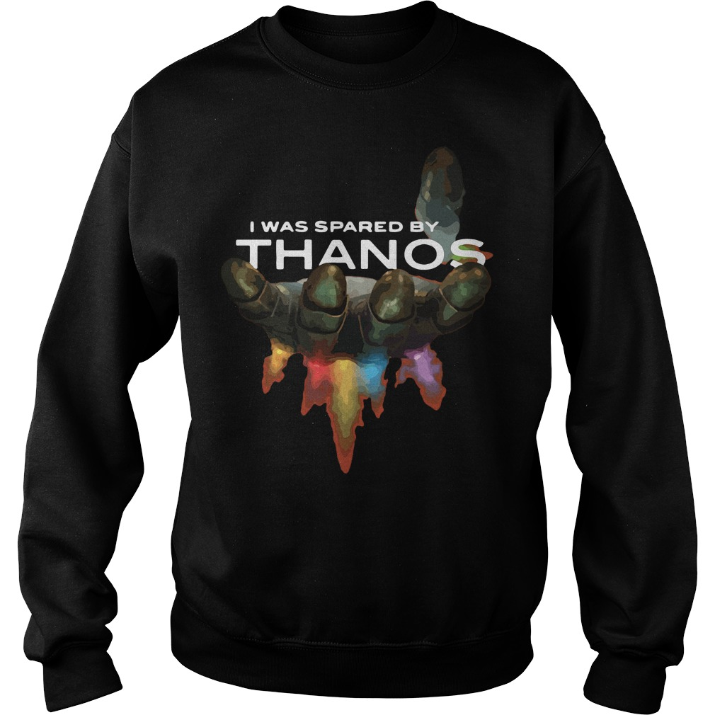 I was spared by Thanos Gauntlet Hand Sweater