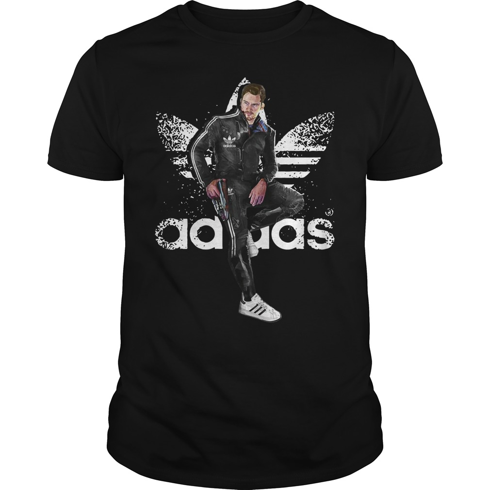 Star Lord - Quill Adidas shirt