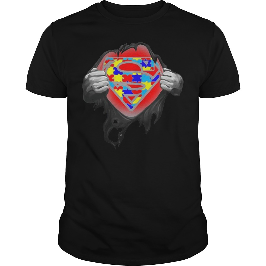 Superman - Support autism awareness shirt