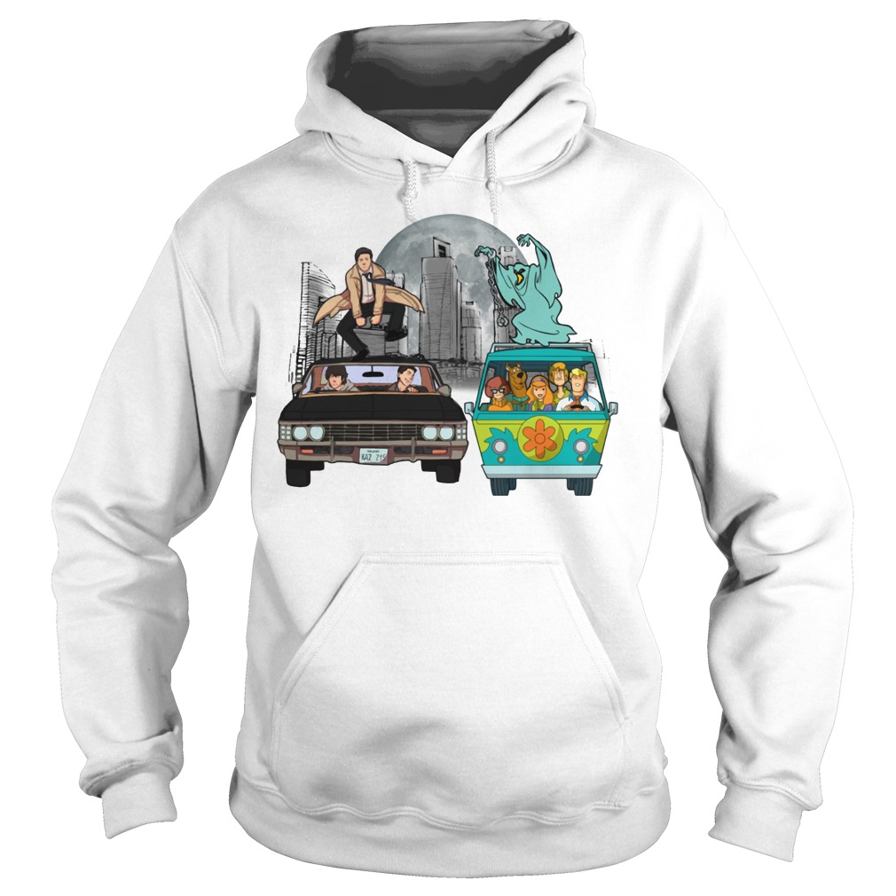 Supernatural and Scooby Doo: Scooby gangs natural Hoodie